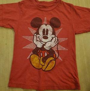 Boys Mickey Mouse Shirt